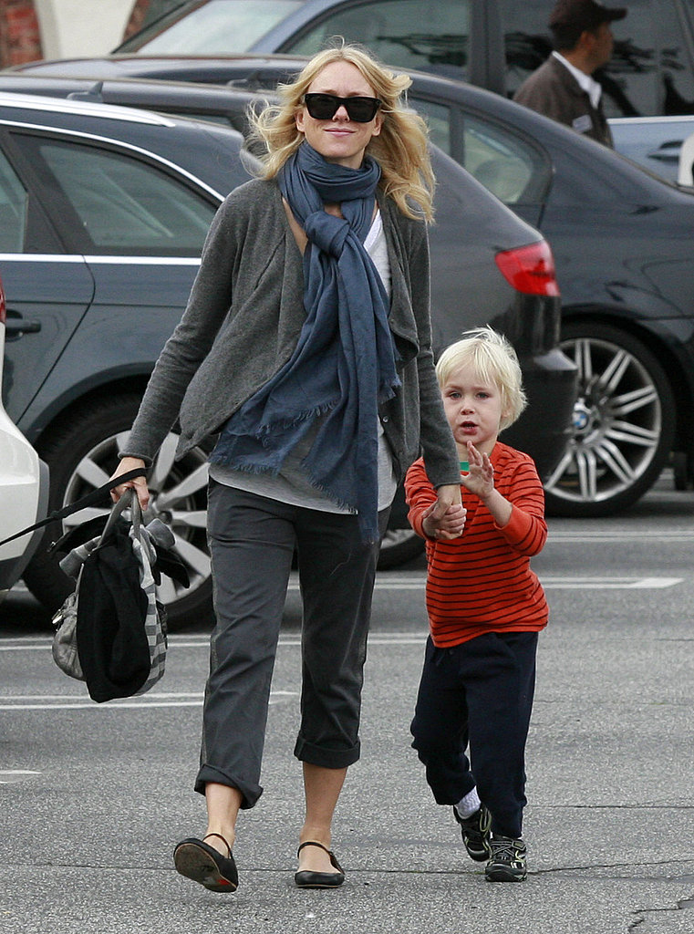 Naomi Watts Takes Her Boys Along For a Shopping Trip Following a Celebratory Weekend