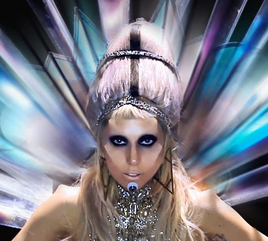 Lady Gaga&#039;s New &quot;Born This Way&quot; Video: All the Beauty Looks 2011-02-28 21:18:36
