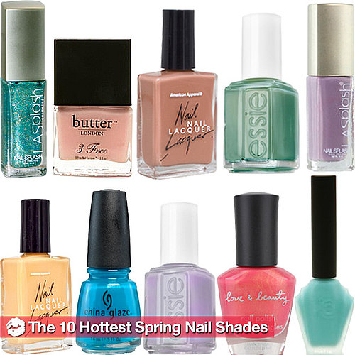 The 10 Big Nail Polish Shades For Spring 2011