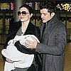 Pictures of Orlando Bloom With Miranda Kerr and Flynn Bloom in Paris For Fashion Week