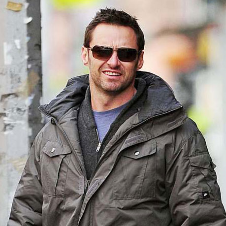 Pictures of Hugh Jackman and Deborra Lee Furness With Ava and Dog in NYC
