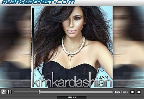"Listen to Kim Kardashian's New Song ""Jam"", Which Debuted on Ryan Seacrest's Radio Show!"