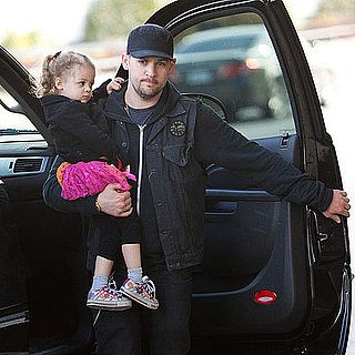 Pictures of Nicole Richie and Gym and Joel and Benji Madden With Sparrow and Harlow
