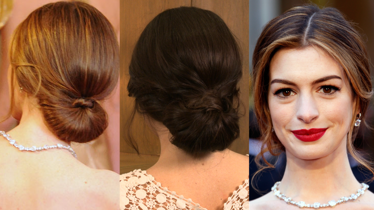 Hairstyles In A Bun : ... to Doing the Traditional Low Knot Wedding Hairstyle Bride Sparkle