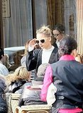 Nicole Looks Très Chic on a Break From the Front Rows in France