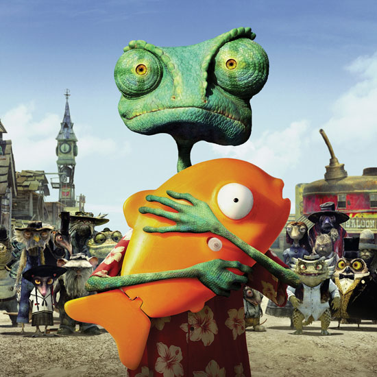 Behind the Scenes of Rango