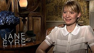 Video of Jane Eyre's Mia Wasikowska Talking About Her Hot Costars