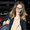 Pictures of Lauren Conrad Wearing Glasses at LAX