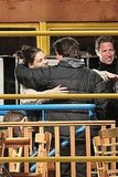 Katie Holmes Stops by the Set to Give Tom Cruise a Big Hug
