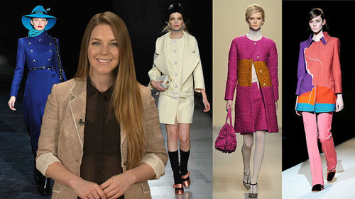 Retro Ladylike Trend at Fall 2011 Milan Fashion Week