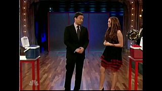 Miley Cyrus and Jimmy Fallon Compete in a Beanbag Toss