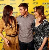 Pictures of Jake Gyllenhaal and Vera Farmiga at the SXSW Premiere of Source Code 2011-03-14 02:15:00