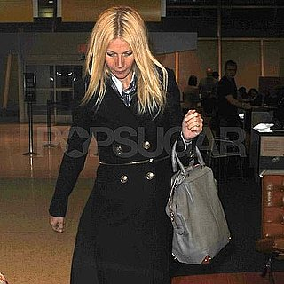 Pictures of Gwyneth Paltrow Leaving JFK