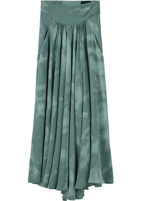 We love the subtle print and soft green hue of this Vena Cava skirt ($435).