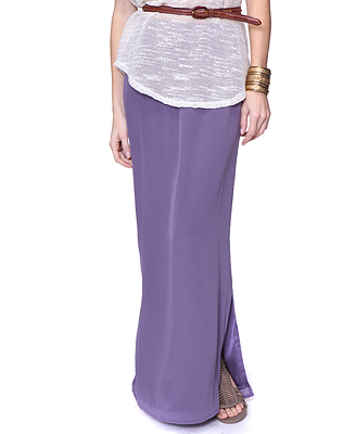 It's ethereal, but not too voluminous. And you can't go wrong on the price of this Forever 21 silk skirt ($28).