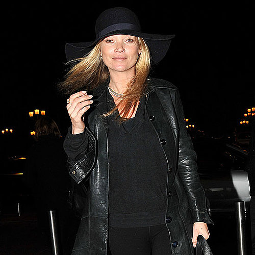 Pictures of Kate Moss at Paris Fashion Week Givenchy Party