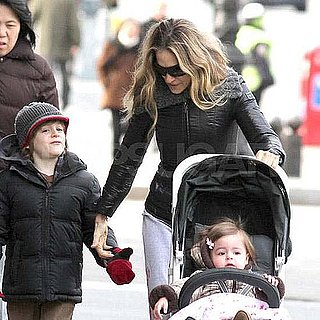 Pictures of Sarah Jessica Parker and James Wilkie With Twins in NYC