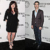 Pictures of Tiffani Thiessen, Matt Bomer, and Tim Dekay Celebrating White Collar at the 2011 Paleyfest