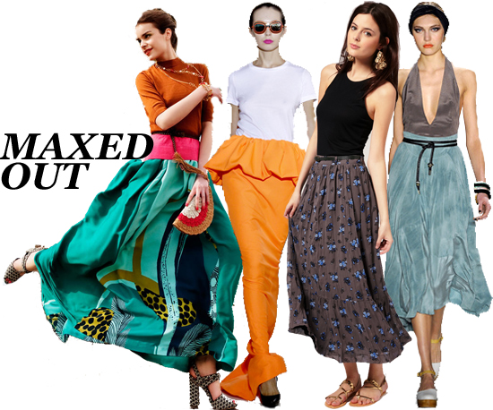 Need Now: The 10 Best Maxi Skirts For Spring