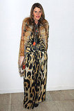 Fur and leopard. It's just the gutsiest combo.