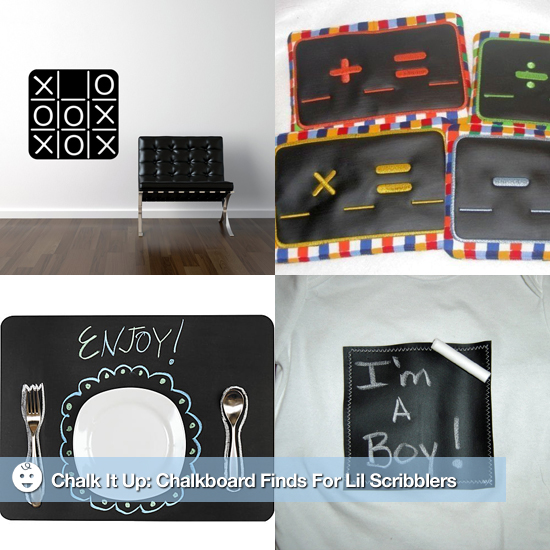 Chalk It Up: Chalkboard Finds For Lil Scribblers