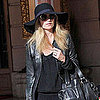 Pictures of Kate Moss at Paris Fashion Week Amid X Factor Rumours and Misery Bear's Celebrity Stalker Role For Comic Relief