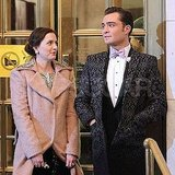 Pictures of Leighton Meester and Ed Westwick Filming Gossip Girl Finale