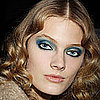 2011 AW Paris Fashion Week Blue Eye Makeup Blue Eyeshadow Trends