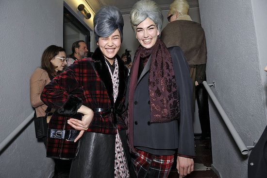 Peep Our Final Batch of Fun Backstage Snaps From Paris Fashion Week — The Best Yet!