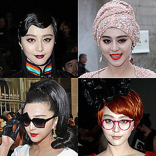 Bingbing Fan Wears Matching Designer Looks on the Paris Fashion Week Front Rows