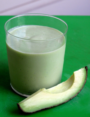 Avocado and Pear Smoothie
