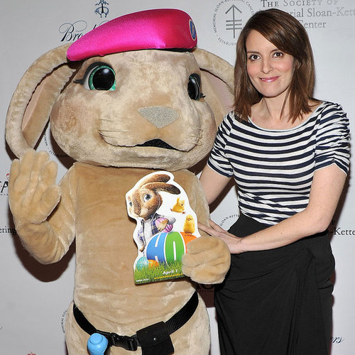 Pictures of Tina Fey at the Society of MSKCC's 20th Annual Bunny Hop