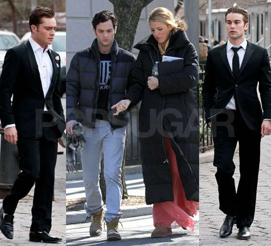 The Gossip Girl Gang Get Glamorous For Finale Filming
