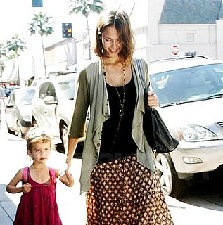 Pictures of Jessica Alba and Honor Warren Running Errands Together in LA