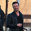 Pictures of Brad Pitt Filming Cogan&#039;s Trade in New Orleans 2011-03-11 05:55:00
