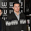 Pictures of Channing Tatum Promoting The Eagle in London