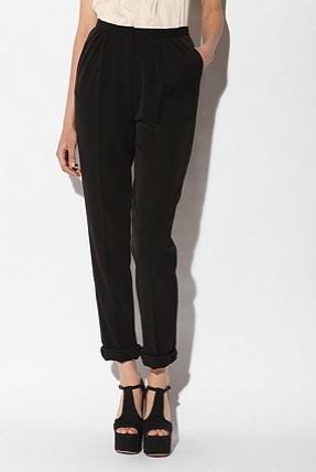 The lightweight textile and subtle pleats makes this a Spring chic staple. Fletcher by Lyell Pleated Pant, ($58)