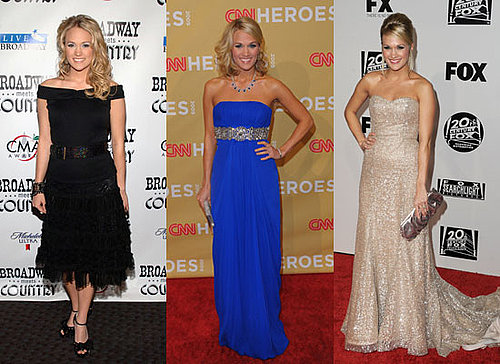 Photos of Carrie Underwood Style, Fashion, Clothing Over The Years