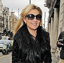 Pictures of Kate Moss Leaving Lunch in London