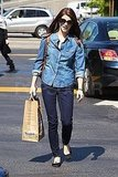 Ashley Greene Goes For Groceries as Her Costars Face a Tsunami Scare