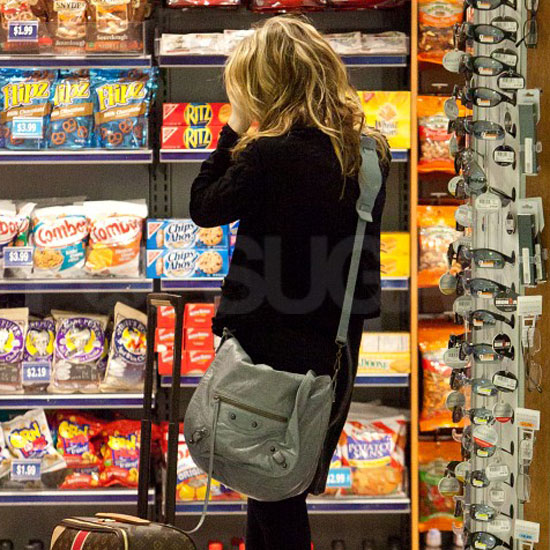 Guess Who's Buying Snacks at the Airport?