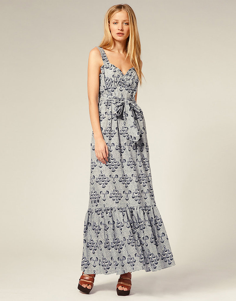 This is what we think of when we think sundresses — feminine and easy. French Connection Shell Print Maxi Dress ($174)