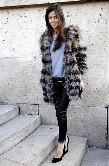 Paris Fashion Week street style. You know you want to see more . . .