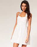 Maybe one of the sweetest LWDs we've ever come upon. ASOS Crisscross Latice Back Sundress ($36)