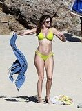 Stephanie Seymour Stands Out in a Neon Bikini