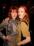 Derek Blasberg hung out with hot redheads Karen Elson and Florence Welch.