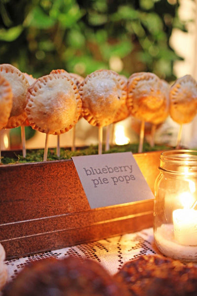 From cake pops to pie pops! These lil guys were made by My Sweet and Saucy.  Photo by Max Wanger