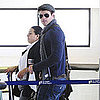Pictures of Kellan Lutz Leaving LAX For Vancouver