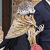 Pictures of Ashley Olsen Wearing a Fur Hat in NYC
