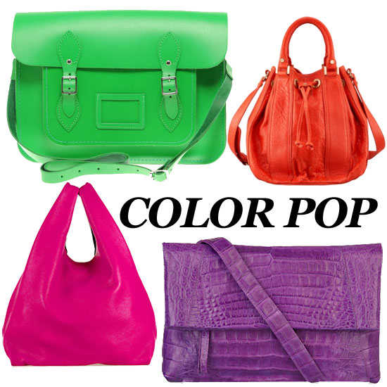 The Best Bright Bags and Clutches For Spring!